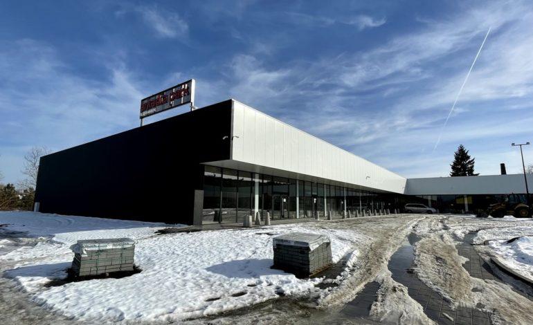 Centrum handlowe Arkadia w Lęborku. Kiedy koniec budowy?  (LISTA SKLEPÓW) (zdjęcia)