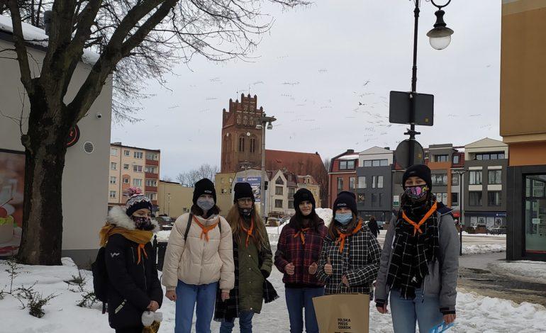 Bawiąc się poznawali Lębork (galeria zdjęć)