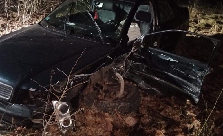 Młody kierowca doprowadził do zderzenia