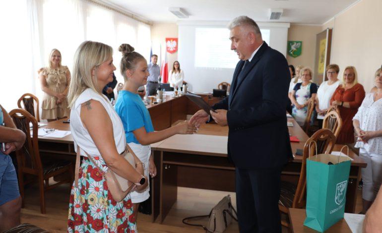 Laura Maszota, bohaterka znad jeziorka w Siemirowicach nagrodzona