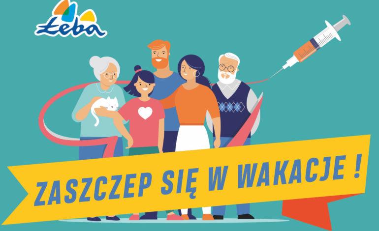 W Łebie na COVID-19 zaszczepią mieszkańców i turystów