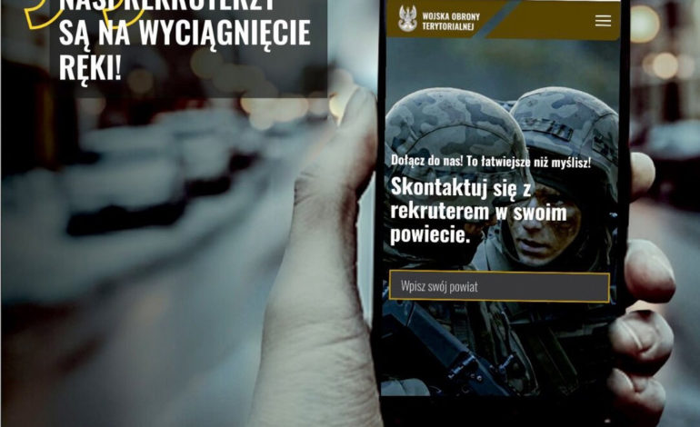 Chcesz wstąpić do wojska? Skontaktuj się ze swoim rekruterem Wojsk Obrony Terytorialnej