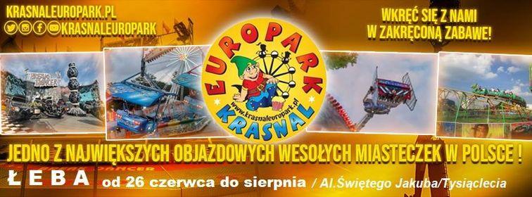Jedno z największych wesołych miasteczek w Polsce już w Łebie