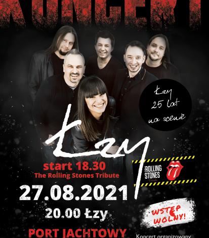 Zakończenie LATA w Łebie – koncert zespołu Łzy (wstęp wolny)
