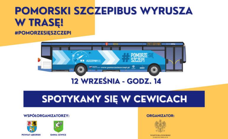 Szczepibus podczas dożynek powiatowych w Cewicach