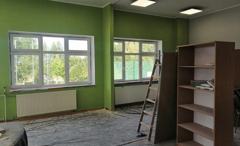 Przebudowa szkoły na przedszkole w Cewicach