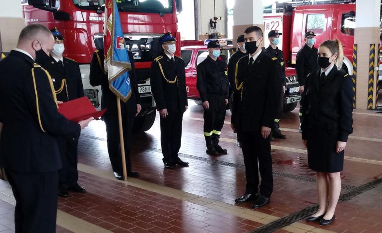 Nowi dowódcy Jednostki Ratowniczo-Gaśniczej w Lęborku